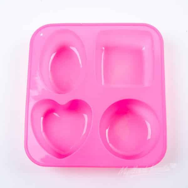 Forma na mydlo 4 v 1