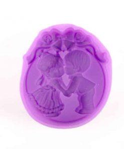Forma na mydlo chlapček a dievčatko