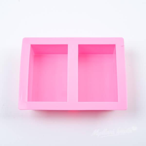 Forma na mydlo dvojitá obdĺžnik