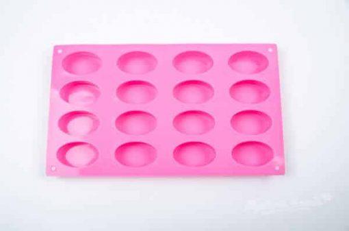 Forma na mydlo ovál 16 ks