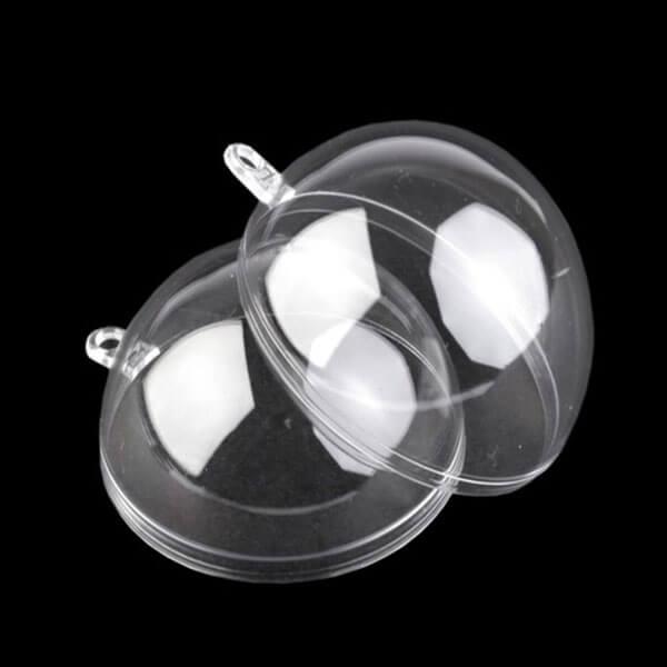 Plastová forma dvojdielna guľa
