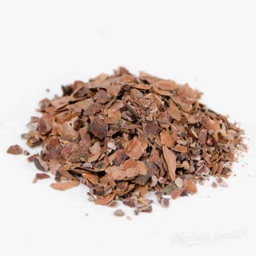 Sušené bylinky do mydla kakaové šupky