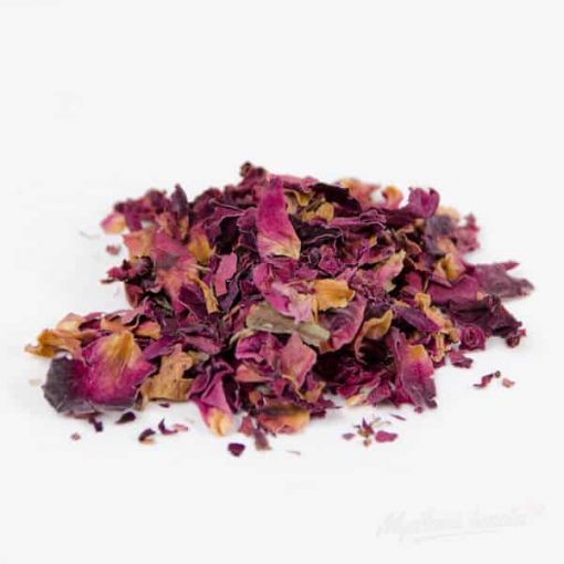 Sušené bylinky do mydla lupene ruží