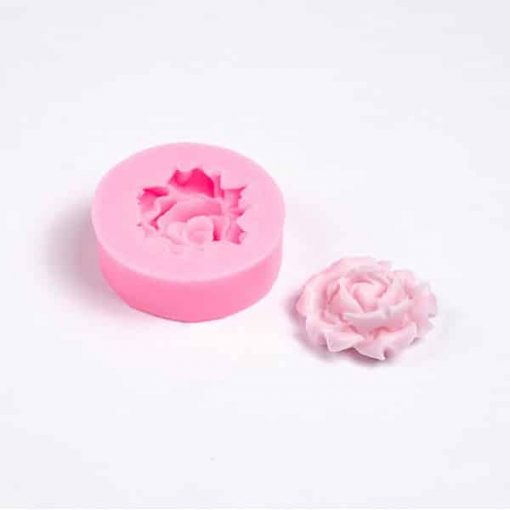 Forma na mydlo ruža 3D